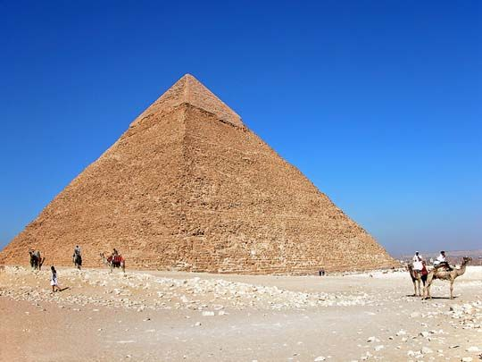 The pyramid of Khafre. Foto: archer10/flickr