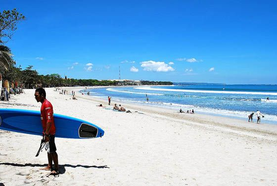 Kuta Beach, Bali. Foto: Donald Man/Flickr