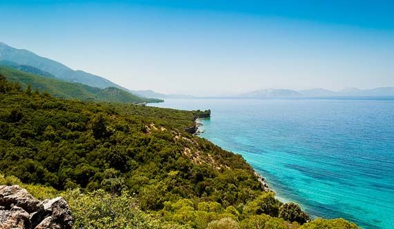 Just green and blue. Samos. Foto: Mizrak/Flickr