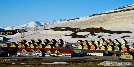 Midnight Sun, Longyearbyen, Svalbard, Norway. Foto: Michael Nielsen/flickr.com