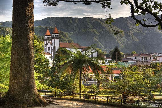 Church on Azores. Foto: Michael Caven/flickr