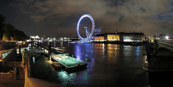 London at night. Foto: Ian Muttoo/Flickr.com