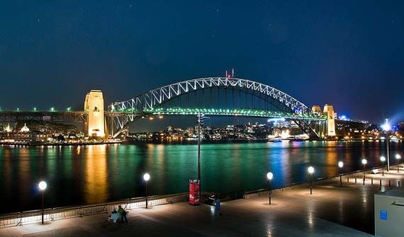 Sydney Harbour Bridge by night. Foto: Hai Linh Truong/flickr.com
